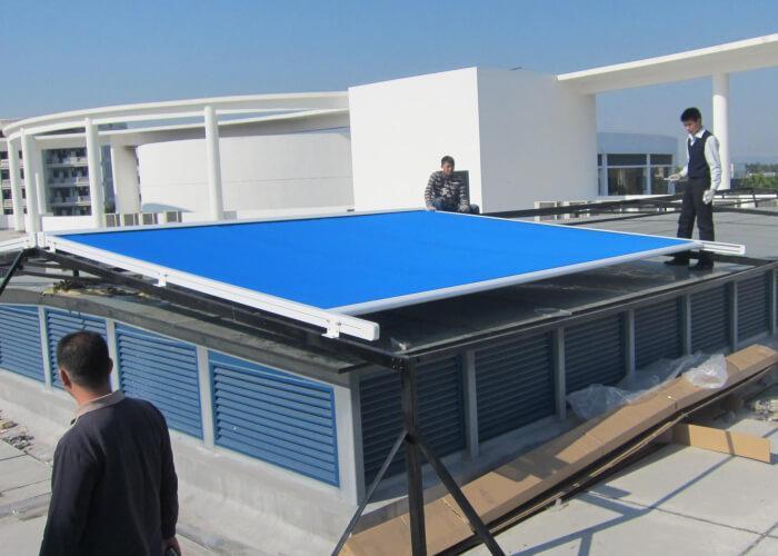 Windproof Sun Shading Automatic Roof Skylight Awning
